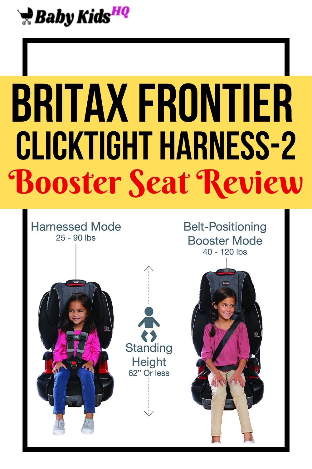 Britax Frontier ClickTight Harness-2 Booster Seat Review