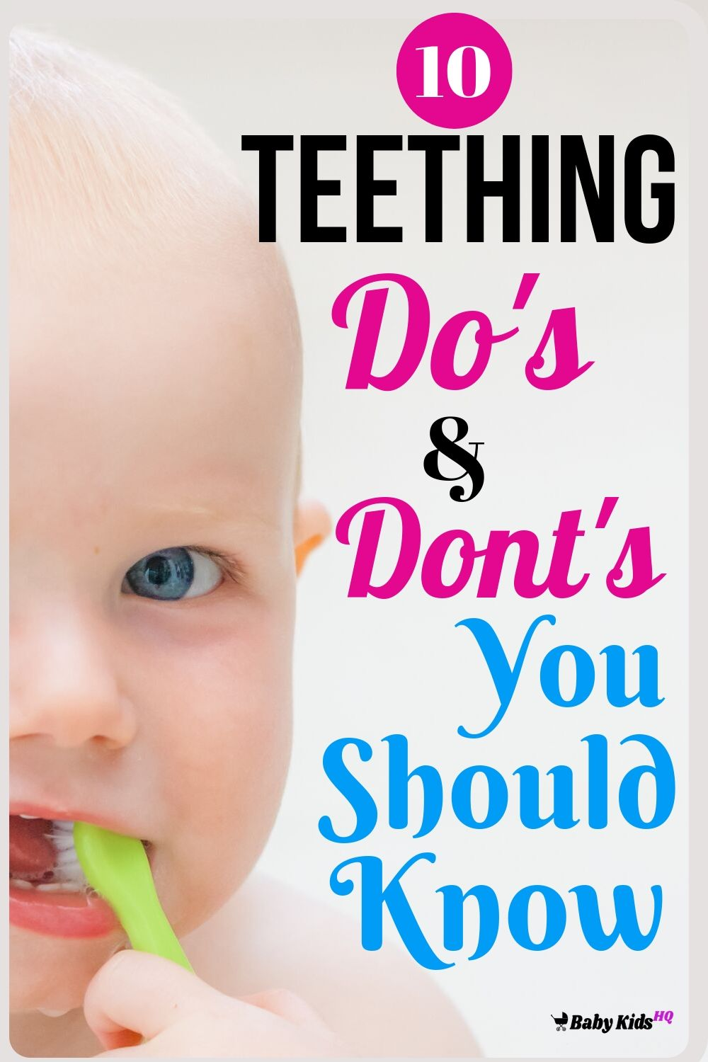Is your baby fussy and gnawing on whatever object he can get his hands on? He could be teething! First time moms, don't panic, we at Baby Kids HQ got you covered.In this article, we will guide you through baby's teething process and what every new mom or first time parents should know about it.
