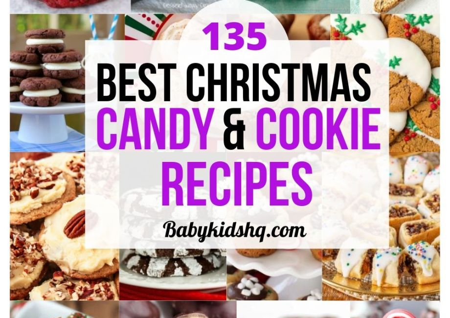 135 Best Christmas Candy & Cookie Recipes