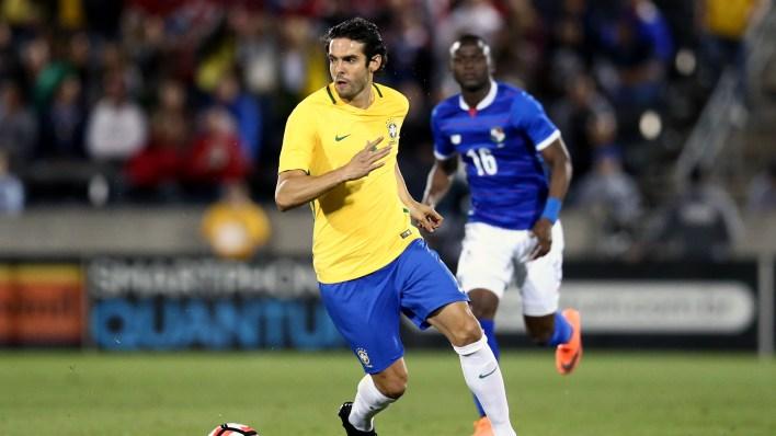 Kaká entrou no segundo tempo (Foto: Lucas Figueiredo / MoWA Press)