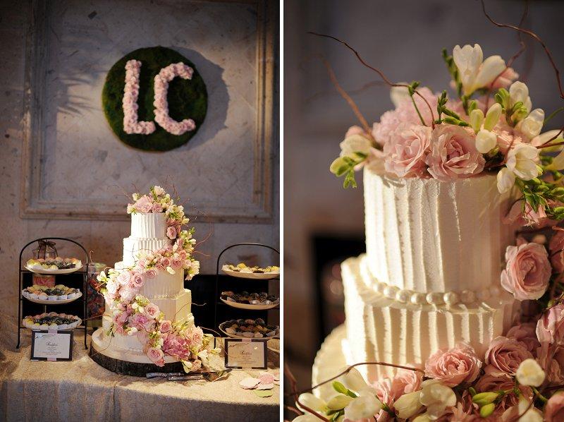 Elegant Enchanted Garden Pink And Green Wedding Every