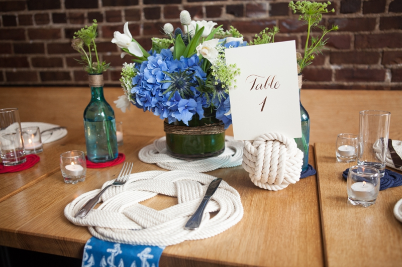 Red, White, And Blue Wedding Ideas {Classic}