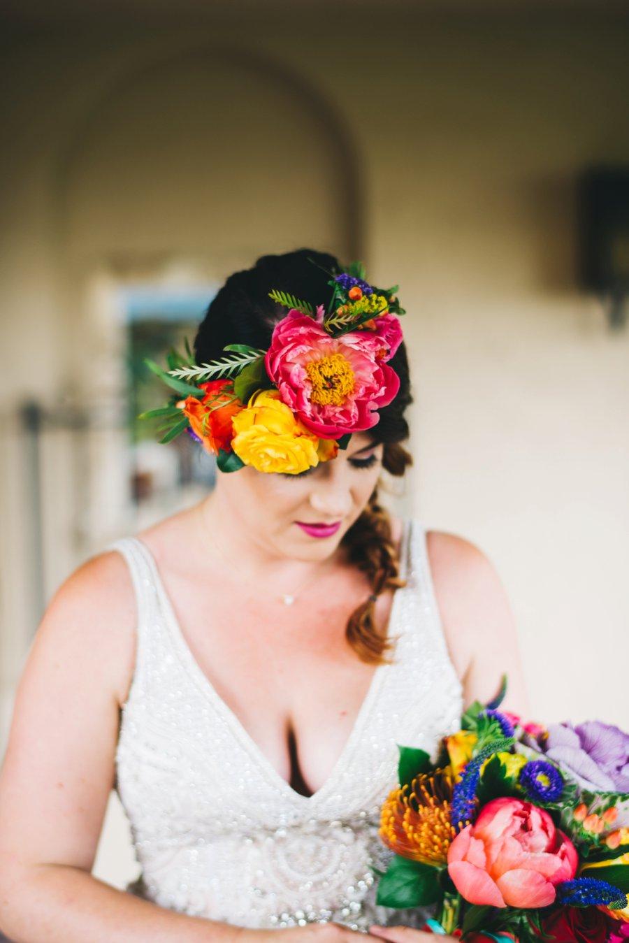 Colorful Cultural Dia De Los Muertos Wedding Ideas