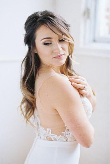 Blue Romantic Organic Wedding Ideas via TheELD.com