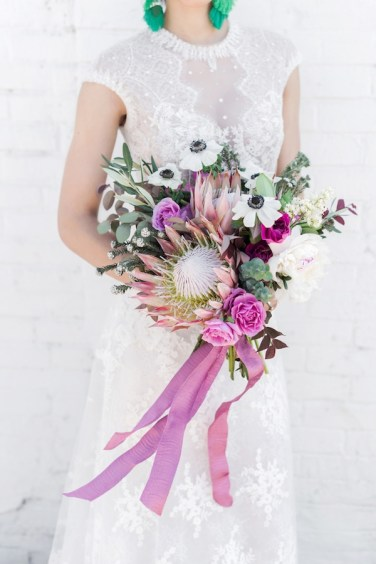 Friday Finds: Eclectic Modern Purple & Teal Wedding Ideas via TheELD.com