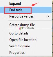 Task Manager RealTech audio run program