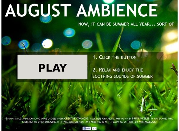 august-ambience