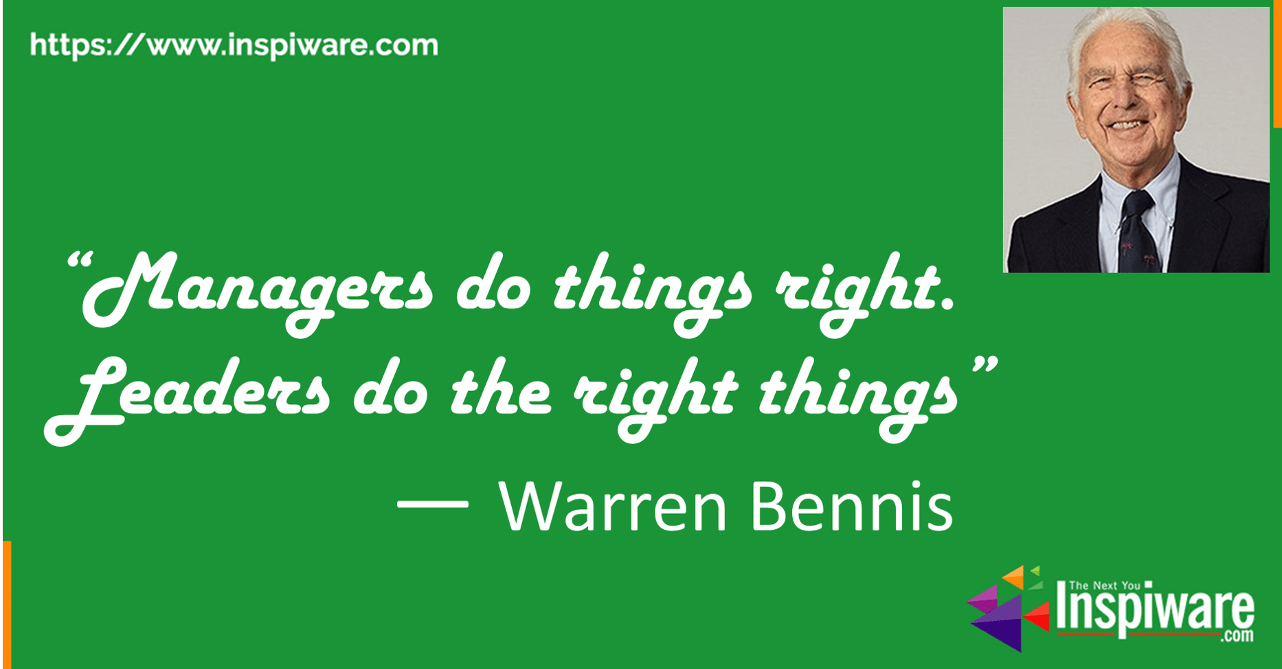 Leaders Do The Right Things