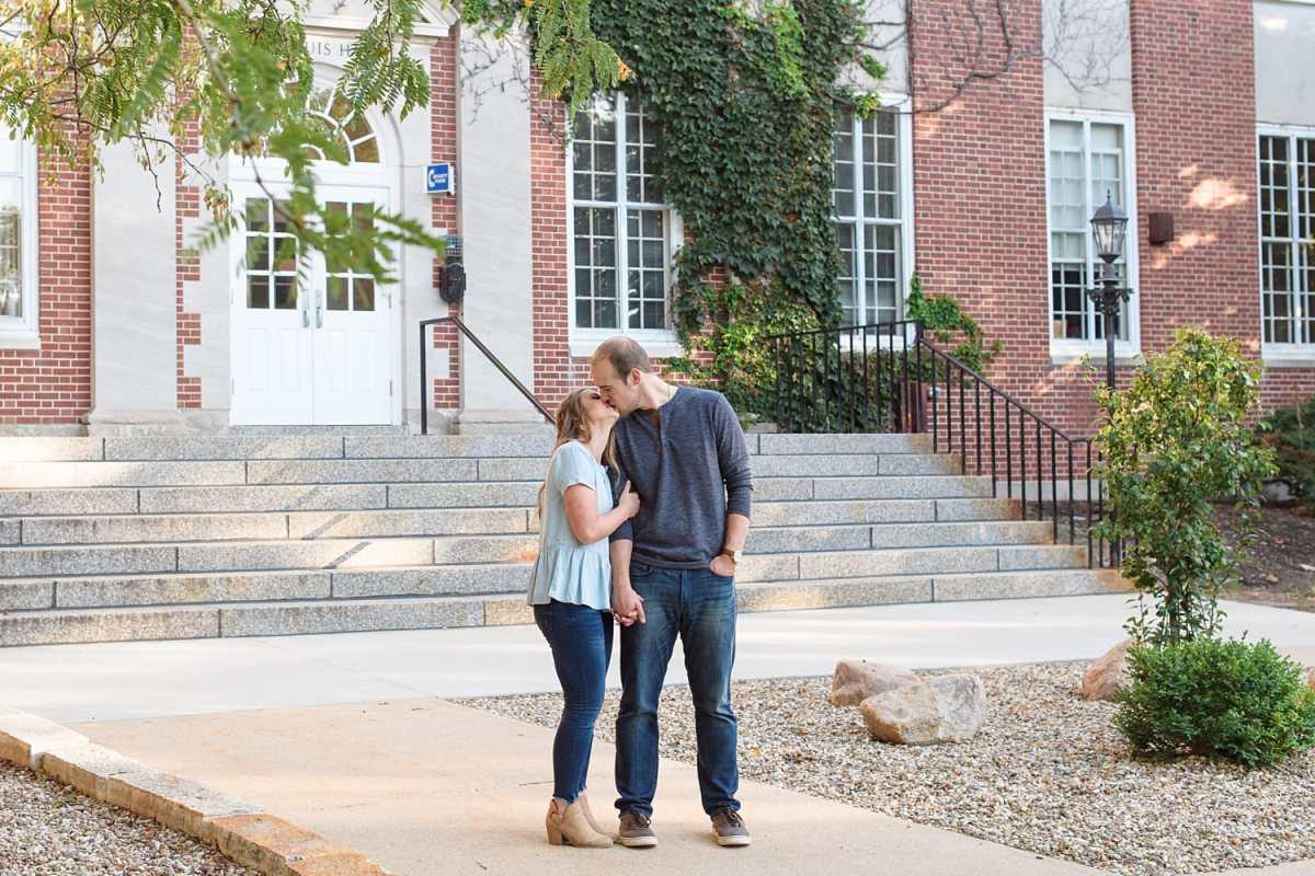 Coe College Engagement Photos