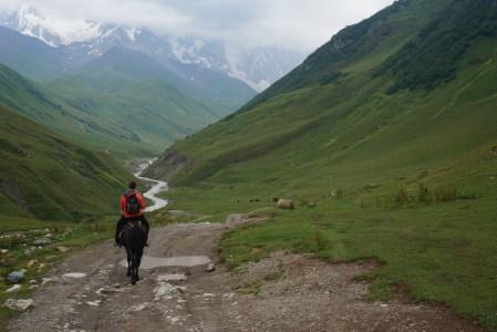 Konno przez Kaukaz
