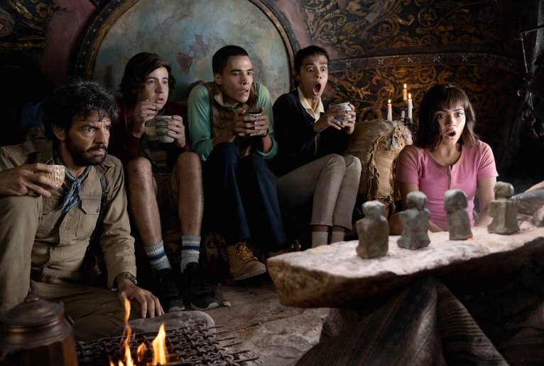 De cast van Dora and the Lost City of Gold