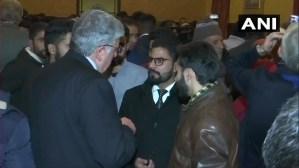 Foreign Envoys Delegation
