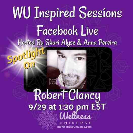 Activity - Robert Clancy - The Wellness Universe