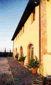 Villa Cerretello entrance
