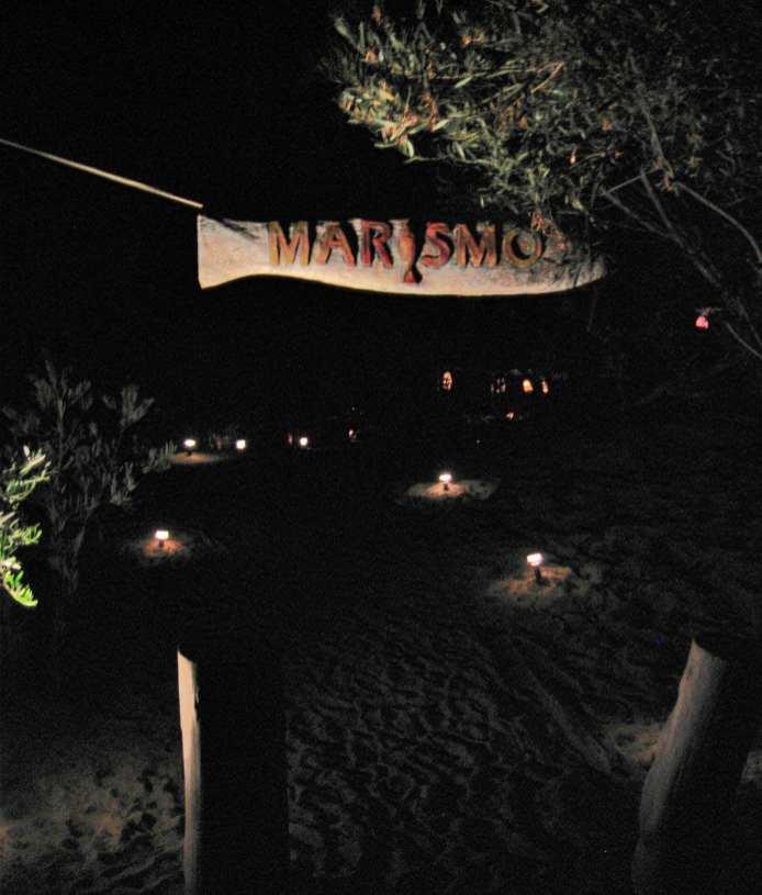 Marismo entrance