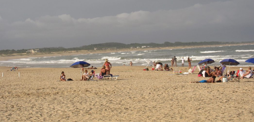 Playa Brava windy day
