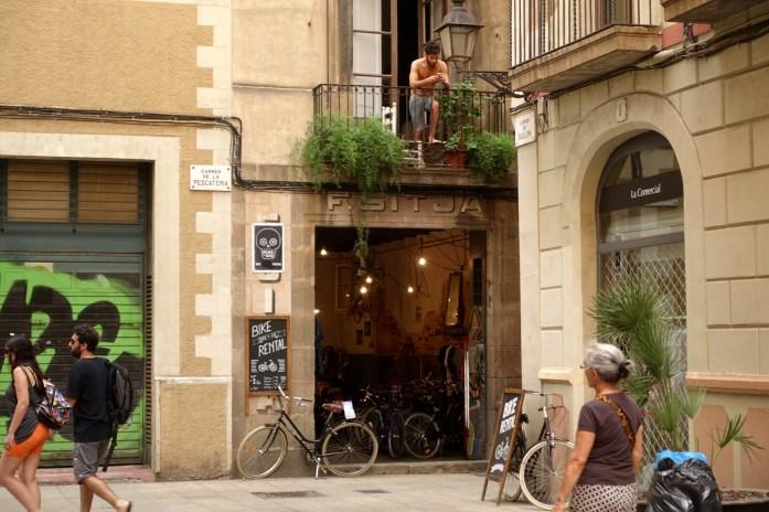 El Born bike rental