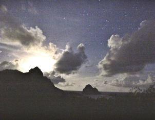 Pousada Maravilha stars and clouds