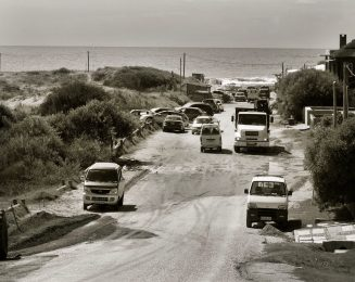 Jose Ignacio beach traffic