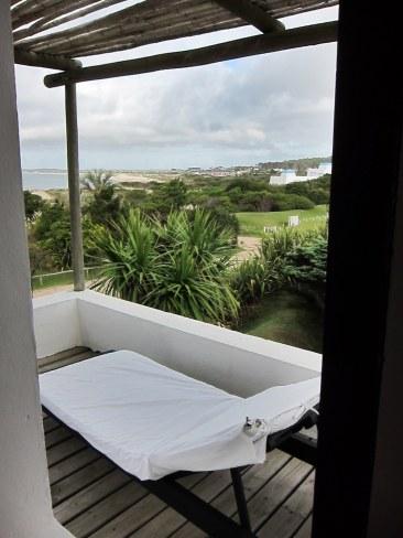 Posada del Faro terrace lounge