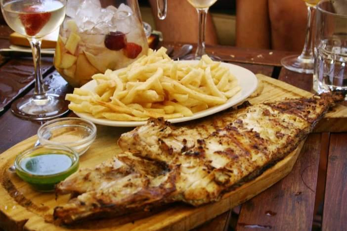 La Huella fresh fish