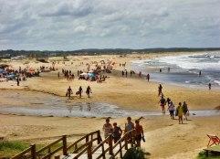 La Pedrera beach