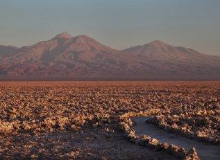 Salar de Atacama path