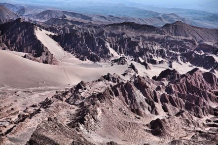 Atacama Desert driest place on earth