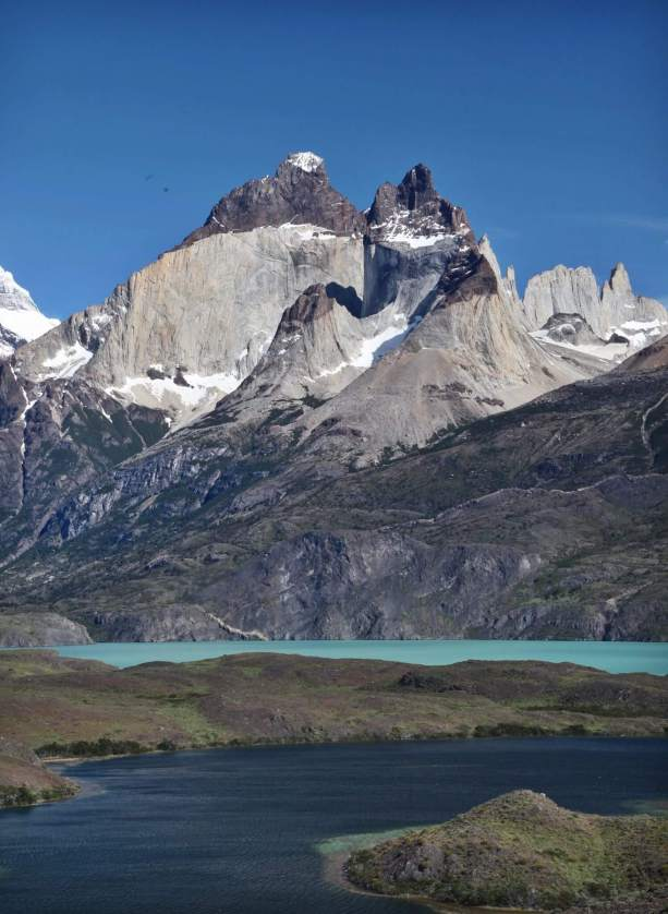 The Horns Torres del Paine lake