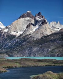 Torres del Paine National Park The Horns lake