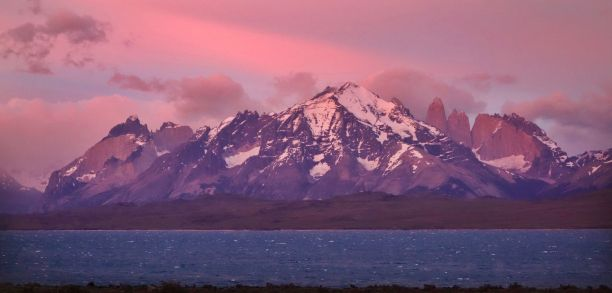 Torres del Paine National Park View from Tierra