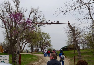 Flying W Ranch entrance