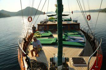 Queen of the Adriatic front deck