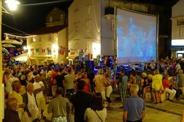 Korčula street party
