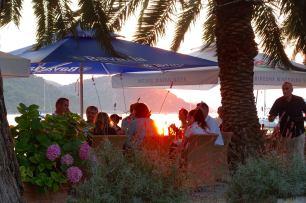 Šipan restaurant sunset