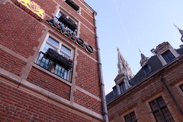 Hotel Amigo Brussels entrance