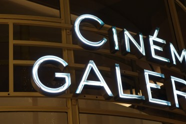 Brussels Cinema sign