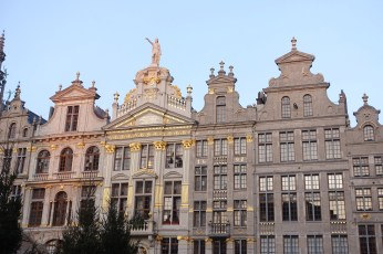 Brussels Grand Place sunrise