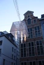 Brussels christmas decor