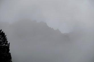 Cirque de Gavarnie clouds