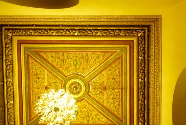 Prague Cafe Savoy ceiling details