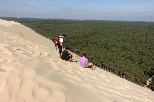 Dune du Pilat steep angle