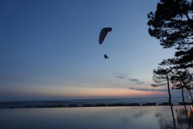 La Coorniche paraglider