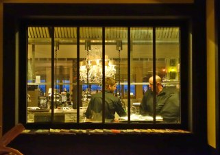 La Coorniche kitchen window