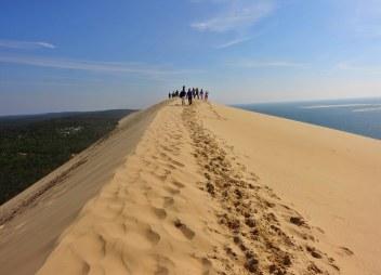 Dune du Pilat high point people