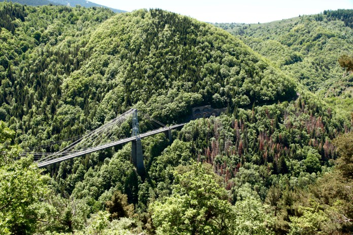 Gorges de la Castellane bridge