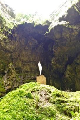 Gouffre de Padirac statue