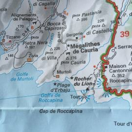 Domaine de Murtoli road map