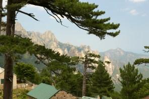 Aiguilles de Bavella cabin view