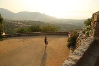 Pigna piazza view